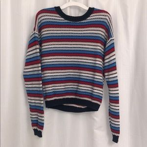 Forever 21 Striped multicolored Sweater size:small